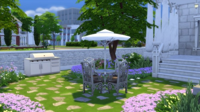 Sims 4 Newcrest Townhouse by Playboi at Mod The Sims