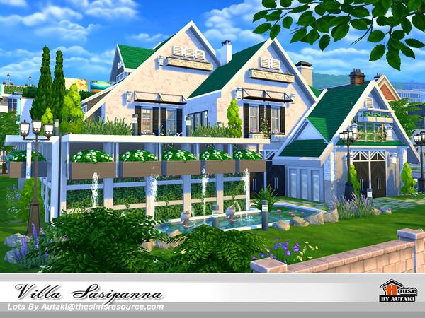 Villa Sasipanna by autaki at TSR image 9913 Sims 4 Updates