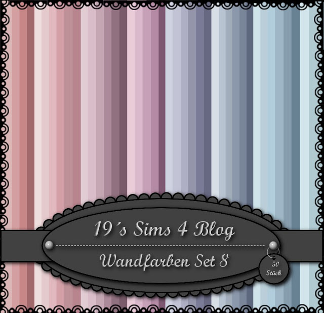 Wall paint set 8 at 19 sims 4 blog sims 4 updates - Paints for exterior walls set ...
