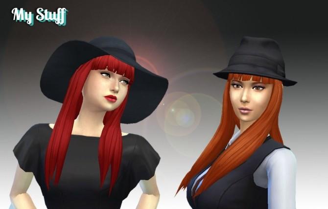 Sims 4 Twists Long Hair Conversion at My Stuff