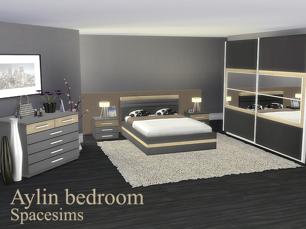 Sims 4 Aylin bedroom by spacesims at TSR