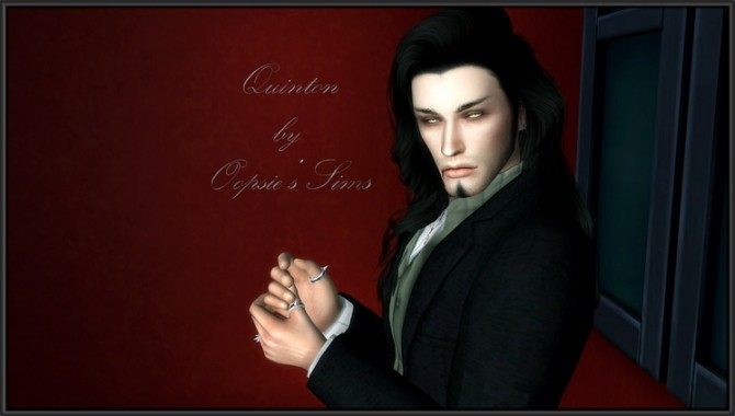 Quinton vampire male at Oopsie's Sims image 1011 670x380 Sims 4 Updates