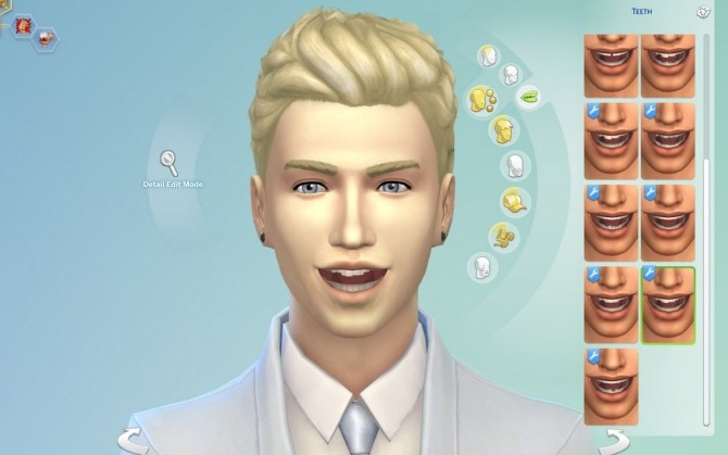 Imperfect Teeth by emile20 at Mod The Sims image 1015 670x419 Sims 4 Updates