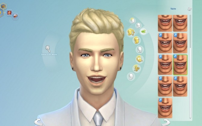 Imperfect Teeth by emile20 at Mod The Sims image 1023 670x419 Sims 4 Updates