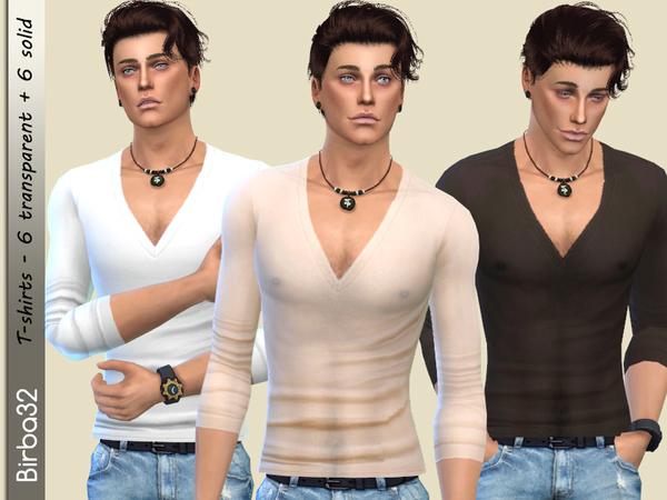 Sims 4 Biagio T Shirt by Birba32 at TSR