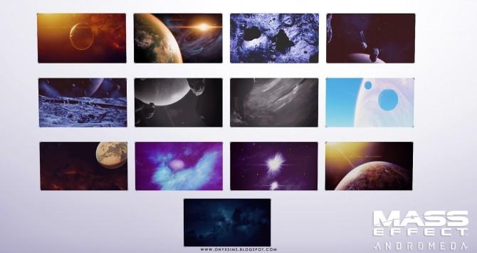 Sims 4 Andromeda Posters at Onyx Sims