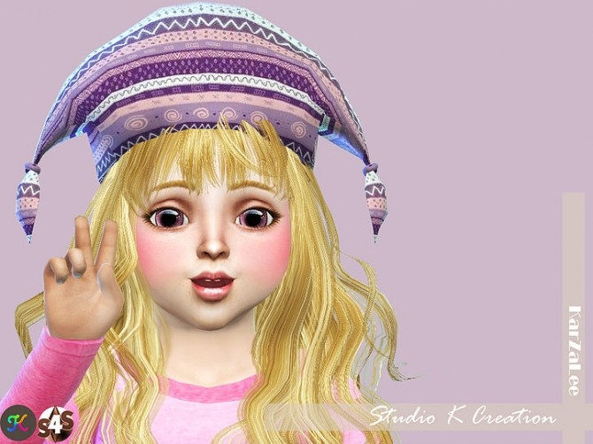 Knotted hat for toddler at Studio K Creation image 10616 670x502 Sims 4 Updates
