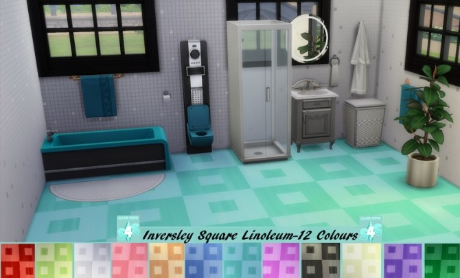 EP01 Inversely Square Linoleum 12 Recolours by wendy35pearly at Mod The Sims image 10811 670x405 Sims 4 Updates