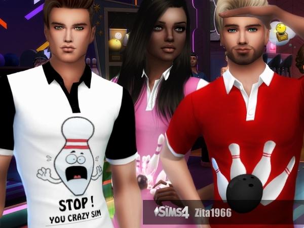 Bowling Shirts by ZitaRossouw at TSR image 10813 Sims 4 Updates
