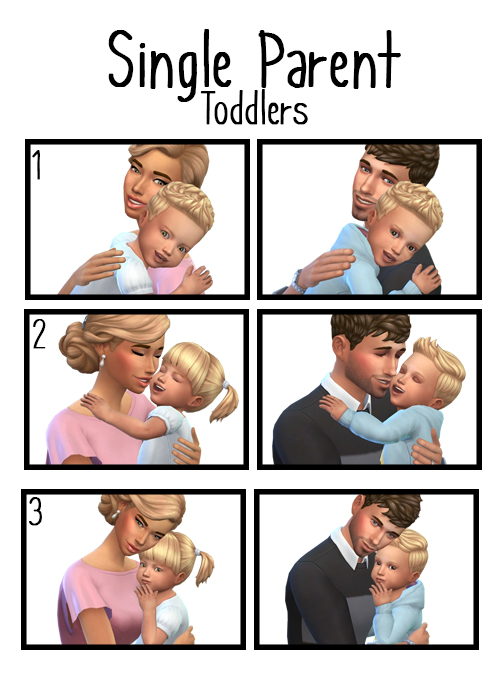 Single Parent Toddlers poses at j e n n e h – SakuraLeon image 1098 Sims 4 Updates
