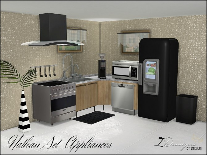 Nathan Set Appliances (New Meshes) at Daer0n – Sims 4 Designs image 111 670x501 Sims 4 Updates