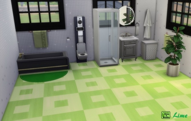 EP01 Inversely Square Linoleum 12 Recolours by wendy35pearly at Mod The Sims image 11114 670x426 Sims 4 Updates
