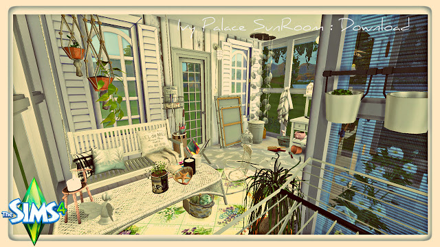 Ivy Palace Sun Room at Pandasht Productions image 11117 Sims 4 Updates