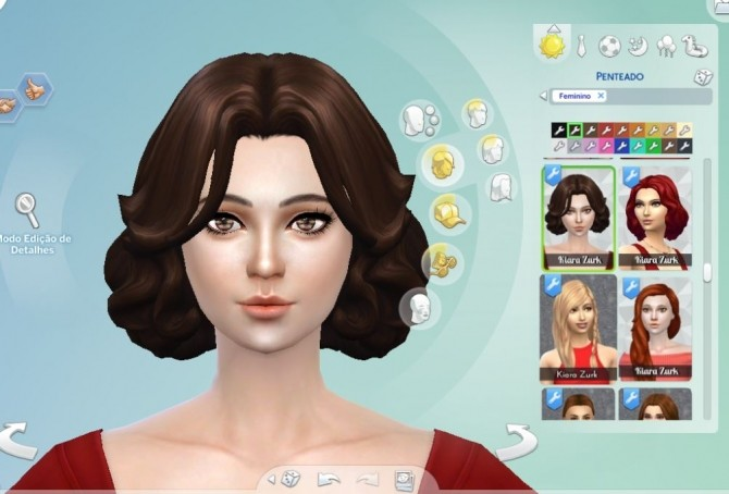 Sims 4 Jacqueline Hair at My Stuff