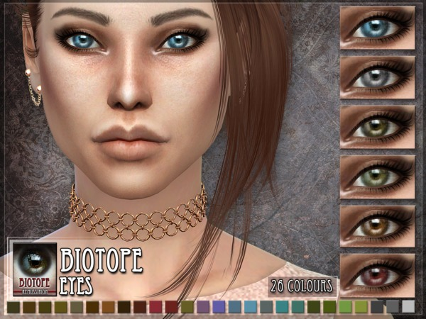 Sims 4 Biotope Eyes by RemusSirion at TSR