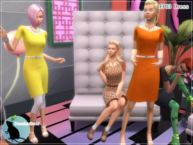 EP03 Dress by Standardheld at SimsWorkshop image 11312 670x503 Sims 4 Updates