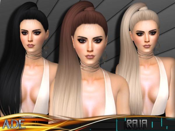 Raja hair by Ade Darma at TSR image 1150 Sims 4 Updates
