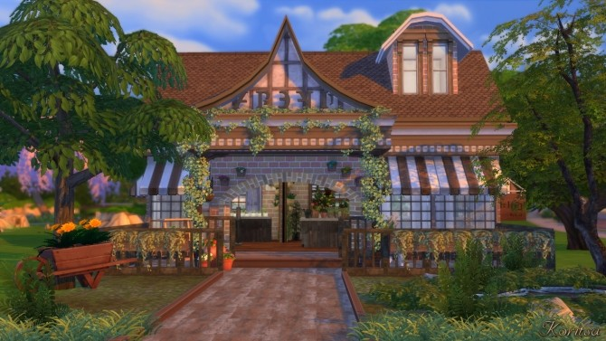 THE GREEN PLACE FLOWERSHOP at Angelina Koritsa image 11514 670x377 Sims 4 Updates