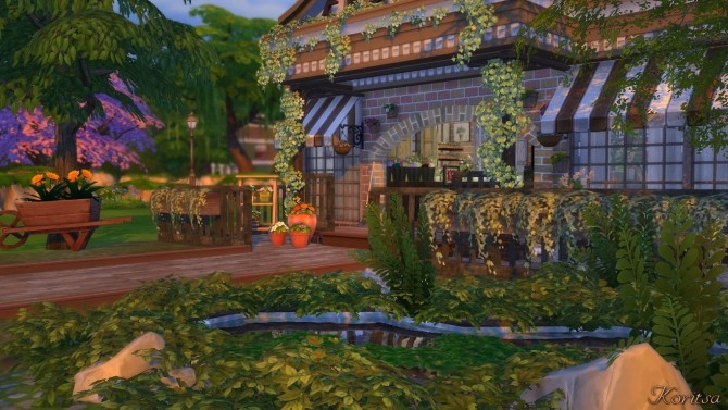THE GREEN PLACE FLOWERSHOP at Angelina Koritsa image 11614 670x377 Sims 4 Updates