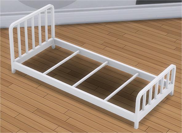 Toddler Metal Bed Frame & Mattress at Veranka image 1177 Sims 4 Updates