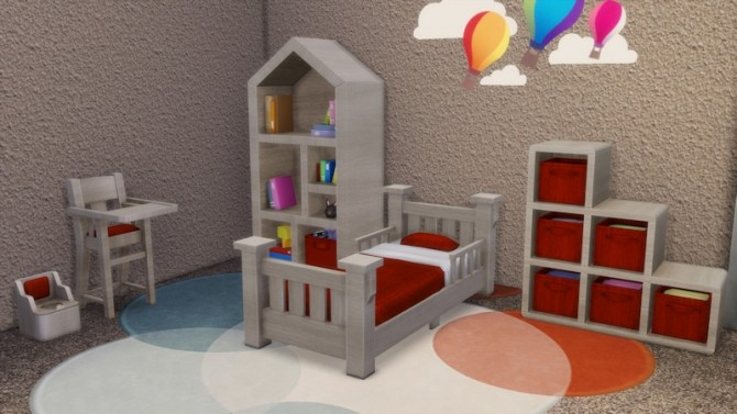 Toddlers Bedroom by LaLunaRossa at About Sims image 119 670x377 Sims 4 Updates