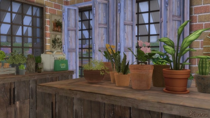 THE GREEN PLACE FLOWERSHOP at Angelina Koritsa image 11912 670x377 Sims 4 Updates