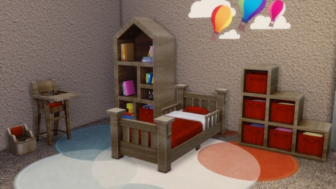 Toddlers Bedroom by LaLunaRossa at About Sims image 120 670x377 Sims 4 Updates