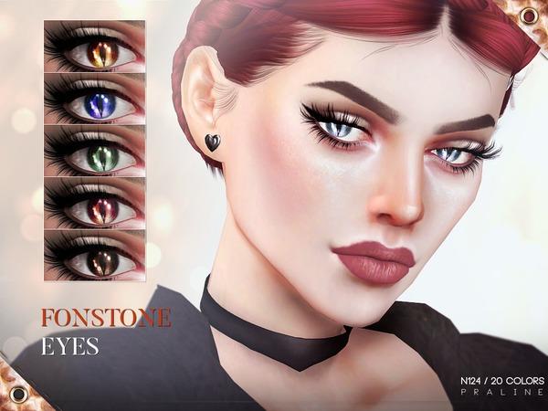 Sims 4 Fonstone Eyes N124 by Pralinesims at TSR