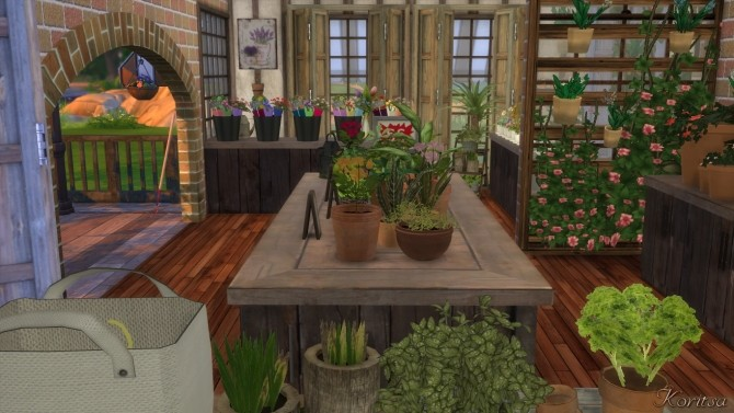 THE GREEN PLACE FLOWERSHOP at Angelina Koritsa image 12013 670x377 Sims 4 Updates