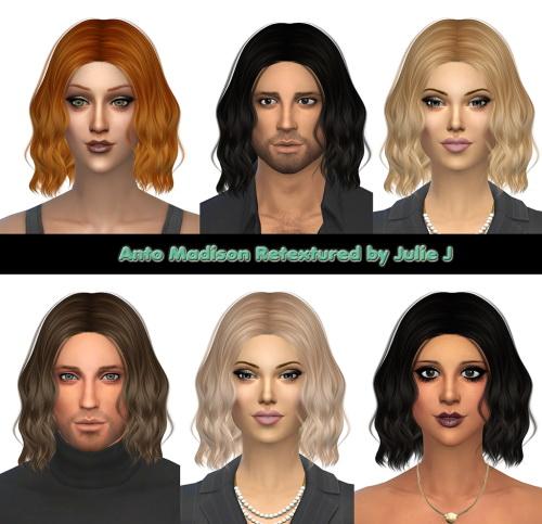Sims 4 Anto Madison Retextured at Julietoon – Julie J