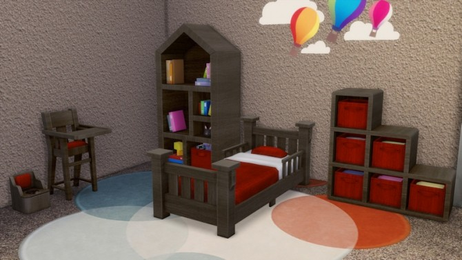 Toddlers Bedroom by LaLunaRossa at About Sims image 121 670x377 Sims 4 Updates