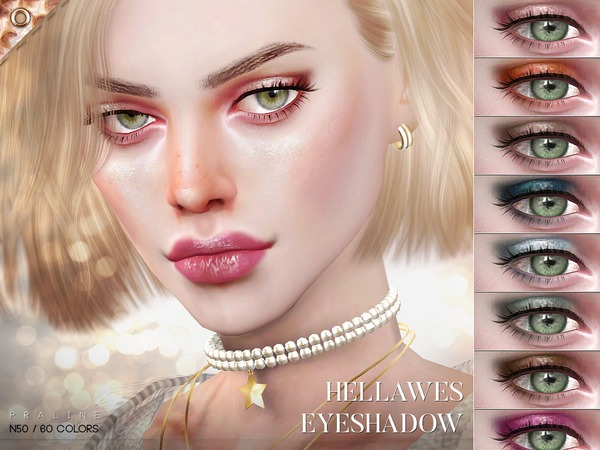 Hellawes Eyeshadow N50 by Pralinesims at TSR image 1213 Sims 4 Updates