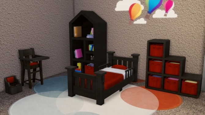 Toddlers Bedroom by LaLunaRossa at About Sims image 122 670x377 Sims 4 Updates