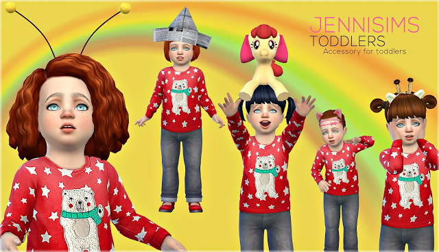 Sims 4 Acc Sets Toddlers (5Acc) Vol4 at Jenni Sims