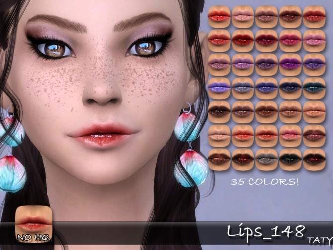 Sims 4 Lips 148 at Taty – Eámanë Palantír