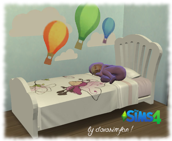 Toddler bed by dorosimfan1 at Sims Marktplatz image 1264 Sims 4 Updates