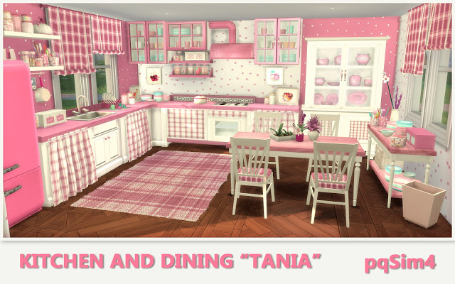Tania Kitchen and Dining by Mary Jiménez at pqSims4 image 1279 Sims 4 Updates
