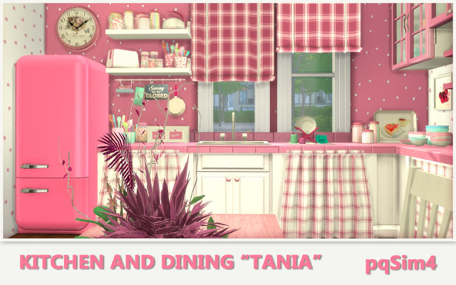 Tania Kitchen and Dining by Mary Jiménez at pqSims4 image 1289 Sims 4 Updates