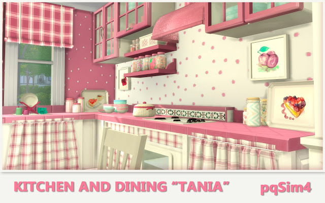 Tania Kitchen and Dining by Mary Jiménez at pqSims4 image 1299 Sims 4 Updates