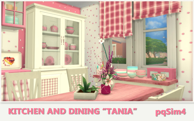 Tania Kitchen and Dining by Mary Jiménez at pqSims4 image 1308 Sims 4 Updates