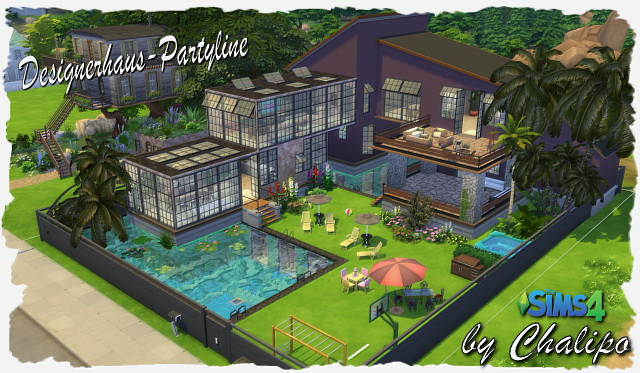 Partyline house by Chalipo at All 4 Sims image 1309 Sims 4 Updates