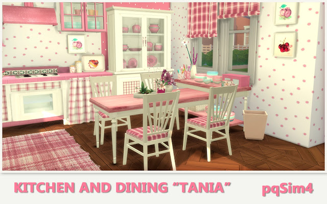 Tania Kitchen and Dining by Mary Jiménez at pqSims4 image 13111 Sims 4 Updates