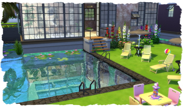 Partyline house by Chalipo at All 4 Sims image 13112 Sims 4 Updates