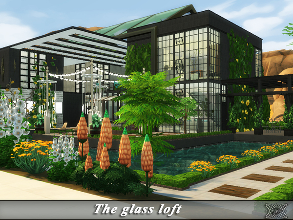 The glass loft by Danuta720 at TSR image 1320 Sims 4 Updates