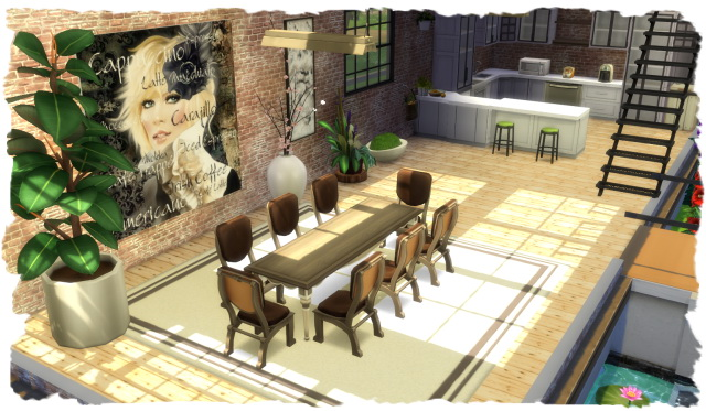 Partyline house by Chalipo at All 4 Sims image 13211 Sims 4 Updates