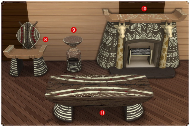 TS3 to TS4 Safari Livingroom Conversion at Annett's Sims 4 Welt image 1336 Sims 4 Updates