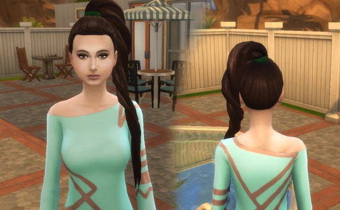 Twist Ponytail at My Stuff image 1337 670x415 Sims 4 Updates
