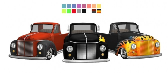 3T4 Rockabilly Hot Rod Truck at Daer0n – Sims 4 Designs image 1342 670x292 Sims 4 Updates