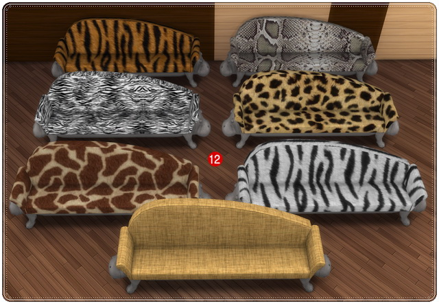 Amazing Safari Rugs At Annettu0027s Sims 4 Welt