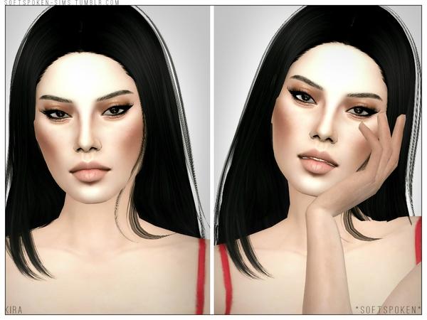 Sims 4 Kira by Softspoken2 at TSR